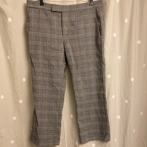 Zara Woman Trouser Pants in Plaid Size 10